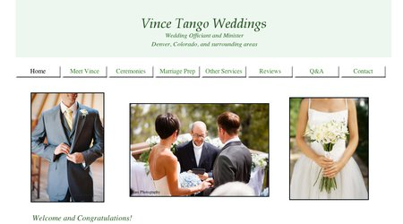 Vince Tango Weddings