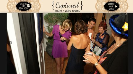 Captured Photo & Video Booths