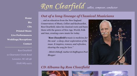 Ron Clearfield - Cellist