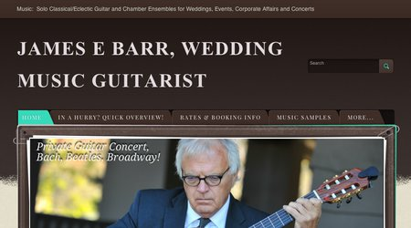 James Barr - Classical Guitarist