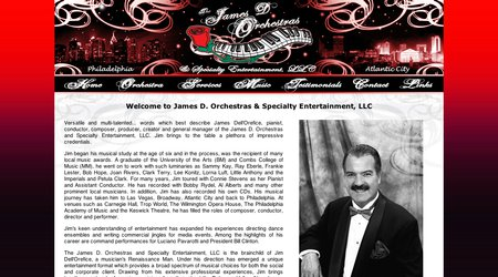 James D. Orchestras & Specialty Entertainment