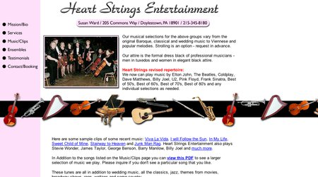 Heart Strings Entertainment