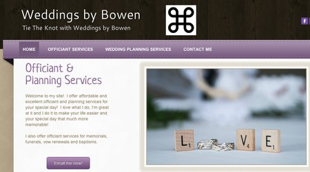 Weddings By Bowen