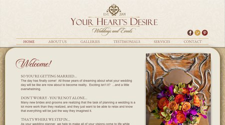 Your Hearts Desire Wedding Consulting