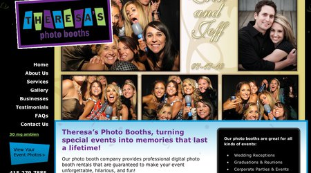 Theresa's Photo Booths