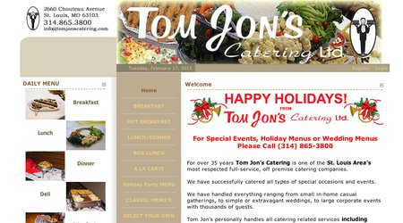 Tom Jons Catering