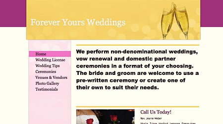 Forever Yours Weddings Performed
