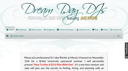 Dream Day DJs featuring Jake Ritchie