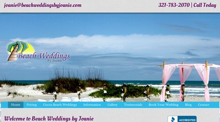 Beach Weddings by Joanie