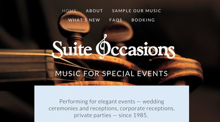 Suite Occasions Music