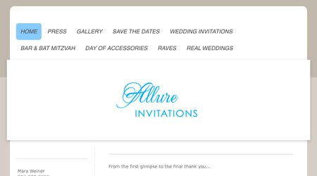 Allure Invitations