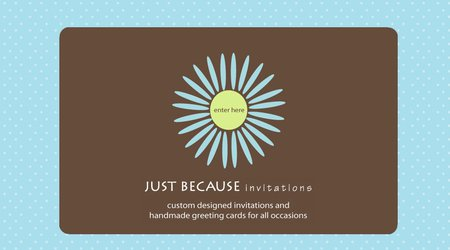 Just Because Invitations
