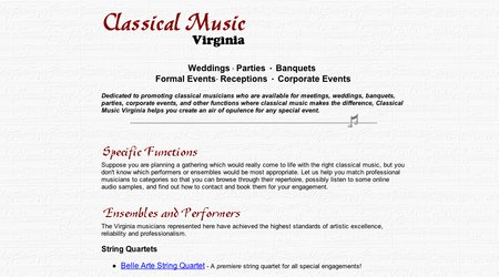 Classical Music Virginia