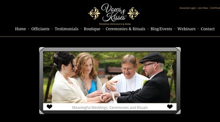 Vows and Kisses Wedding Officiants and More ~ Dale Webb