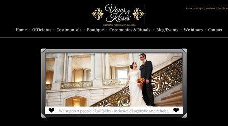 Vows and Kisses Wedding Officiants and More ~ Julianna Donofrio
