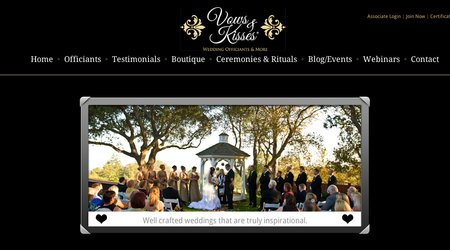 Vows and Kisses Wedding Officiants and More ~ Diana Moore