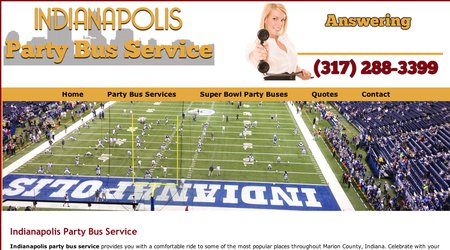 Indianapolis Party Bus Services