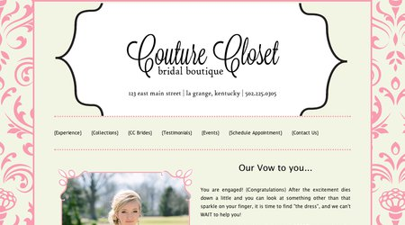 Couture Closet Bridal Boutique