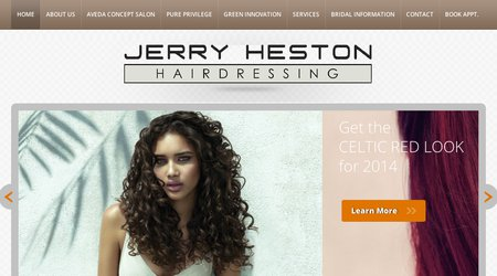 Jerry Heston Hairdressing