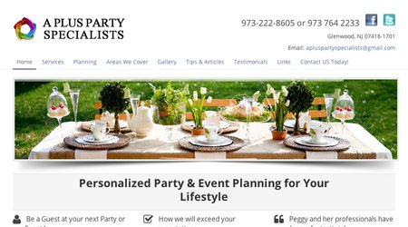 A Plus Party Specialists