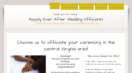 Happily Ever After Wedding Officiants