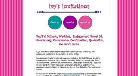 Ivy's Invitations