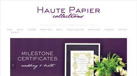 Haute Papier Collections