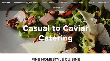 Casual to Caviar Catering