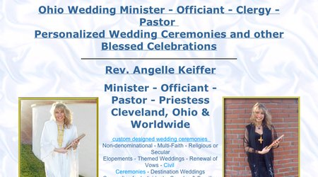 Rev Angelle - Weddings, baptisms, counseling