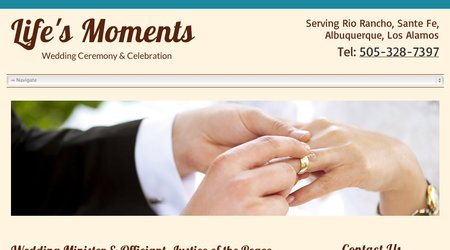 Life's Moments Weddings, Ceremonies & Celebrations