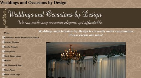 Weddings & Occasions by Design