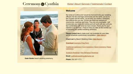 Ceremony By Cynthia