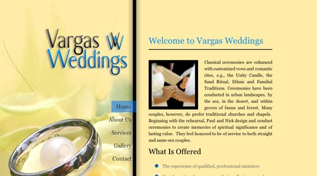 Vargas Weddings