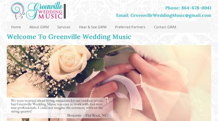 Greenville Wedding Music
