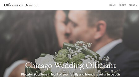 Officiant on Demand