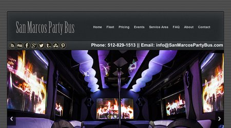 San Marcos Party Bus