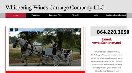 Whispering Winds Carriage Co.