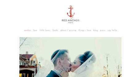 Red Anchor Photo