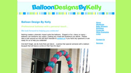 Balloon Designs by Kelly