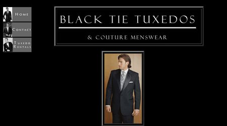Black Tie Tuxedos & Couture Menswear