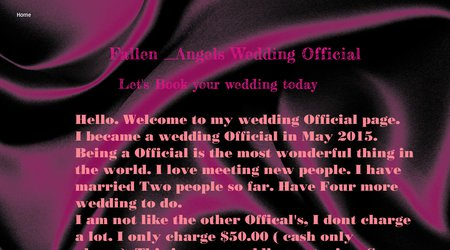 Fallen _Angels Wedding Official