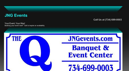 The Q by JNG Events Banquet & Event Center