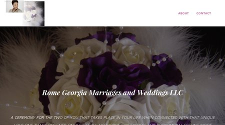 Rome Georgia Marriages and Weddings LLC