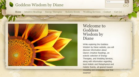 Goddess Wisdom by Diane